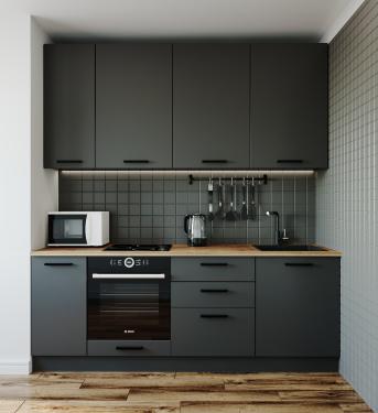 Кухня Антрацит 2200 мм