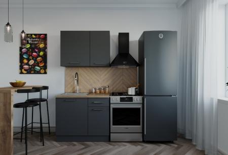Кухонный гарнитур Антрацит 1000 мм