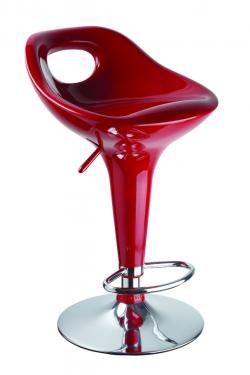Барный стул Malibu красный