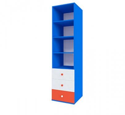Шкаф открытый с ящиками серия Пожарный