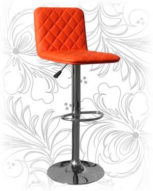 Барный стул 5003 оранжевый