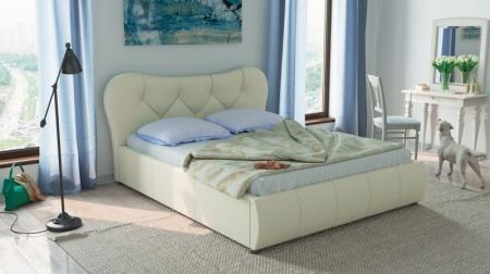 Кровать Лавита белая