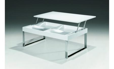 Журнальный стол J030 белый лак