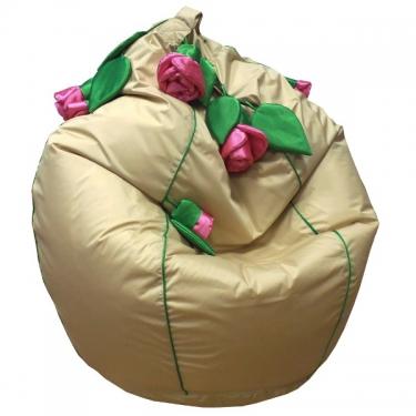 Кресло-мешок Розы бежевый