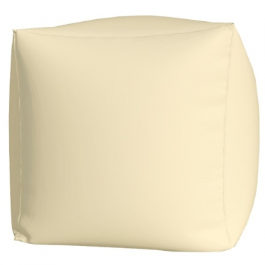 Пуфик Куб макси белый