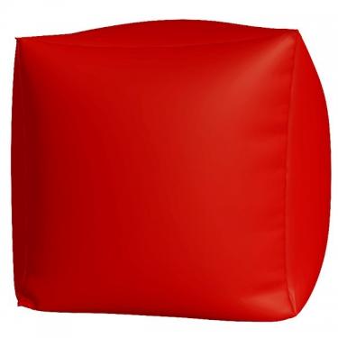 Пуфик Куб макси красный