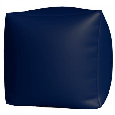 Пуфик Куб макси т.синий