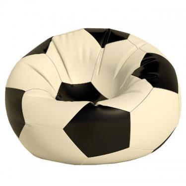 Кресло-мешок Мяч средний бел/черн