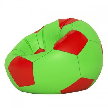 Кресло-мешок Мяч мини салатово-красный