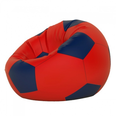 Кресло-мешок Мяч мини красно-синий