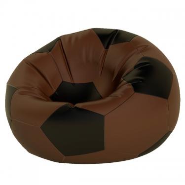 Кресло-мешок Мяч макси коричн. с черным