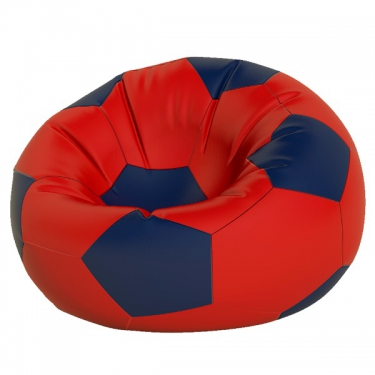 Кресло-мешок Мяч макси крас. с синим