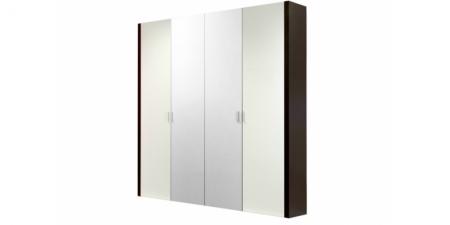 Шкаф 4-х створчатый с 2 зеркалами Арго