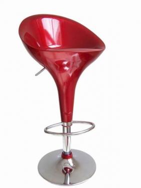Барный стул 1001 бордовый