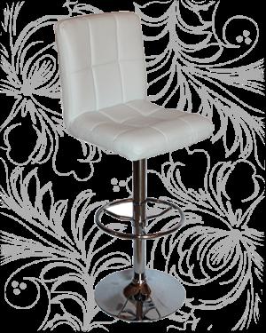 Барный стул KRUGER 5009 белый