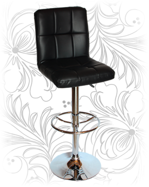 Барный стул KRUGER 5009 чёрный
