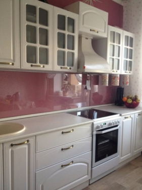 Кухня Фьюжн ясень белый