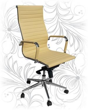 Кресло для руководителя LMR-101F бежевое
