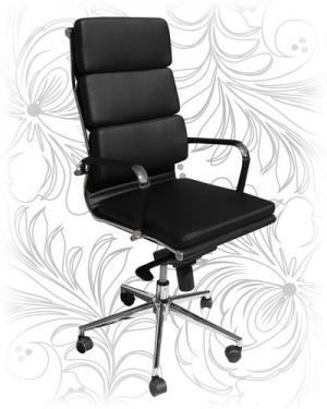 Эргономичное кресло для руководителя LMR-103F черное