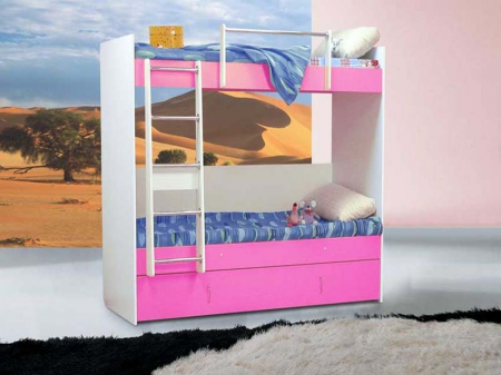 Кровать двухярусная №3