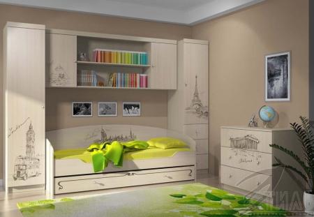 Мебель для детской Мийа 3 Фотопечать Композиция 3