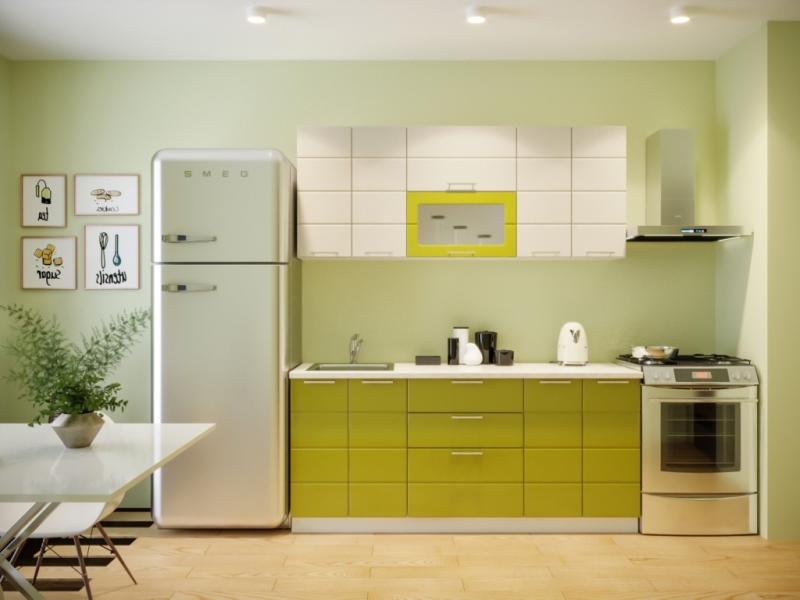 Кухня Соло 1,8 м олива/ваниль