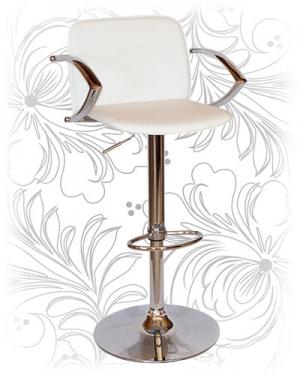 Барный стул 3019 белый