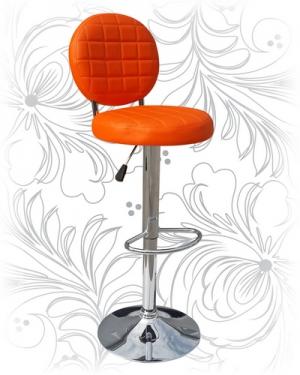 Барный стул 3260 оранжевый