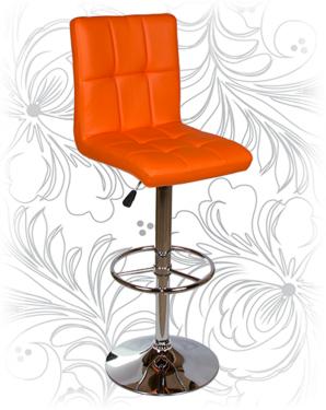 Барный стул KRUGER 5009 оранжевый