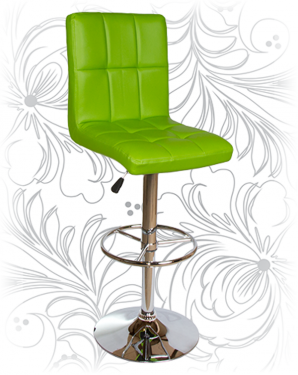 Барный стул KRUGER 5009 зеленый