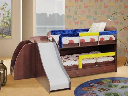 Уголок школьника №5 Кровать двухярусная выкатная