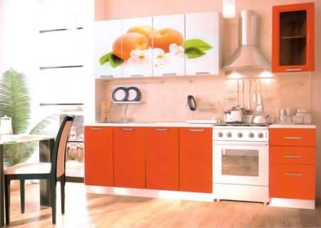 Кухонный гарнитур Персик 1800
