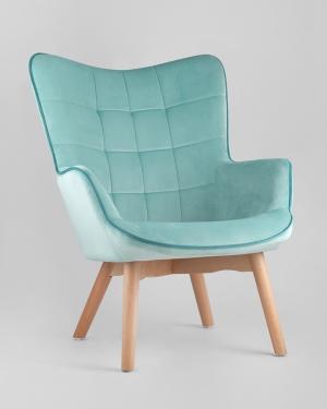 Кресло Марго мятное